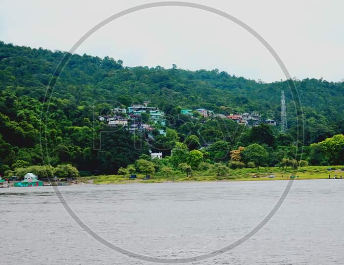 River,Mountain.Natural View At Jaflong Sylhet,Bangladesh