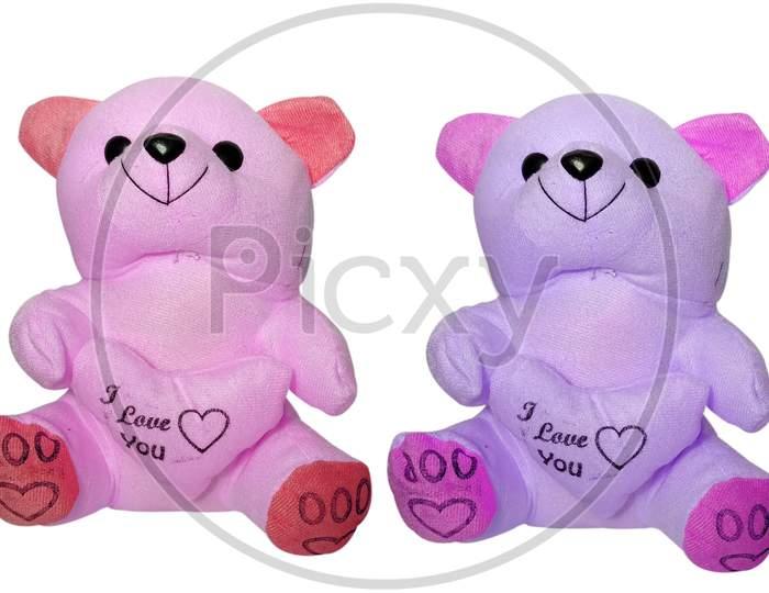 Beautiful Pink and Purple Teddy Bear.