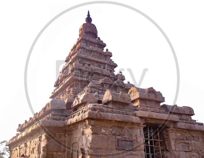 Overexposure Shore Temple At Mahabalipuram