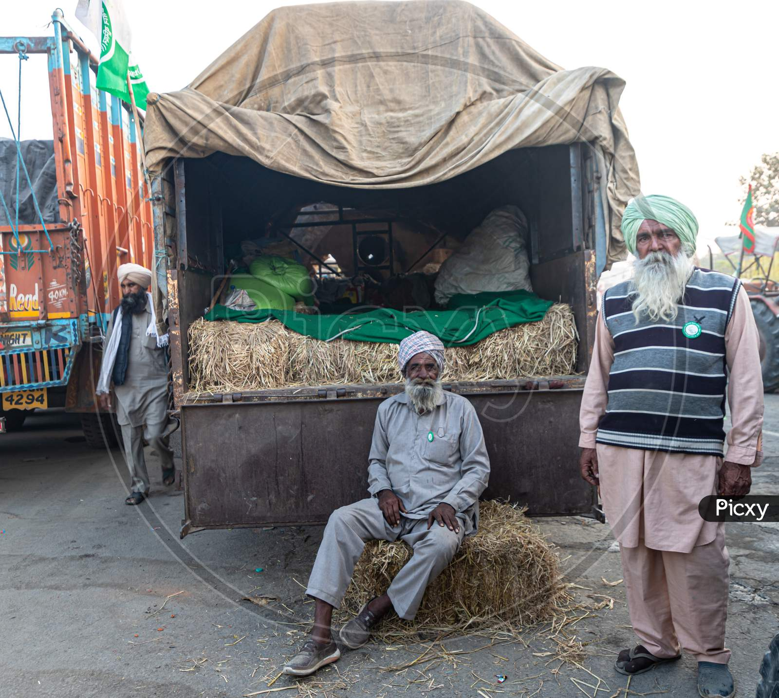 Indian Farmers Are Protesting Against New Farm Law Passed By Indian Government.