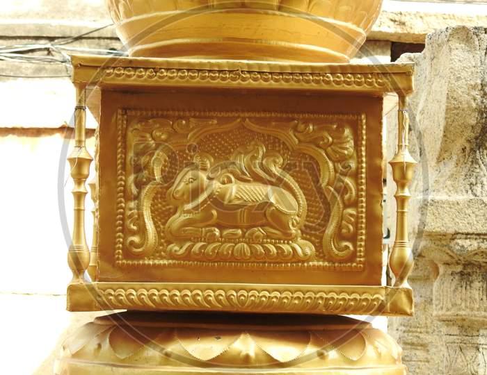 beautiful Veerabhadra Hindu temple located in Lepakshi in the state of Andhra Pradesh, India