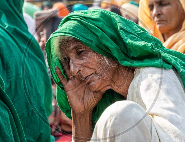Farmers Are Protesting Against The New Farmer Law Passed By Indian Government.