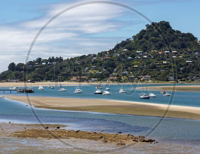 Tairua Inlet In New Zealand
