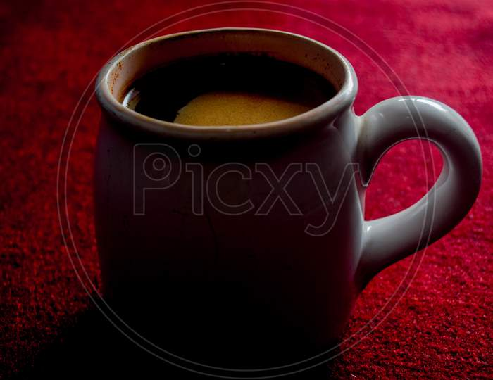 A delicious cup of coffee to add excitement to start the activity