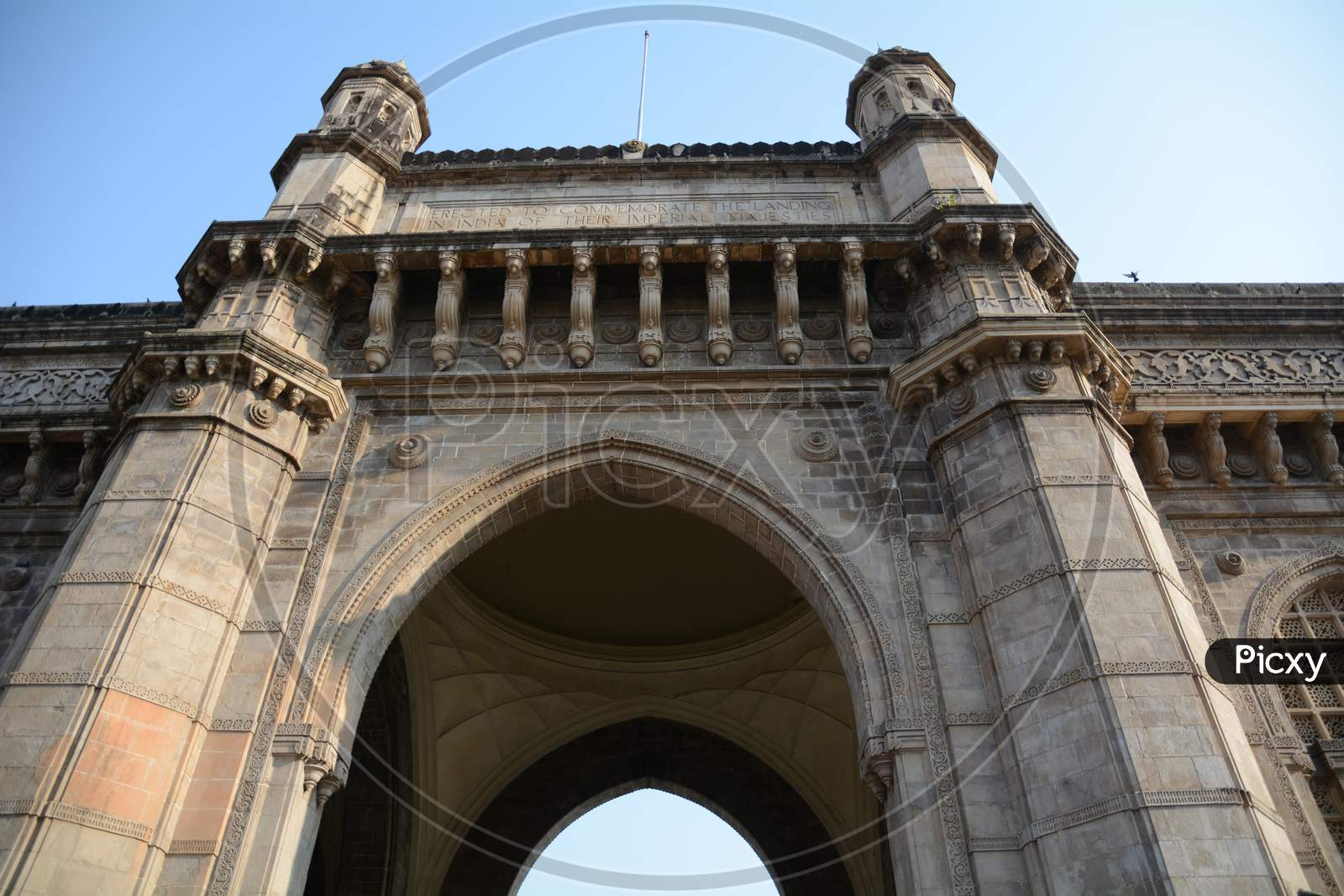 An Arch OF Gateway Of india