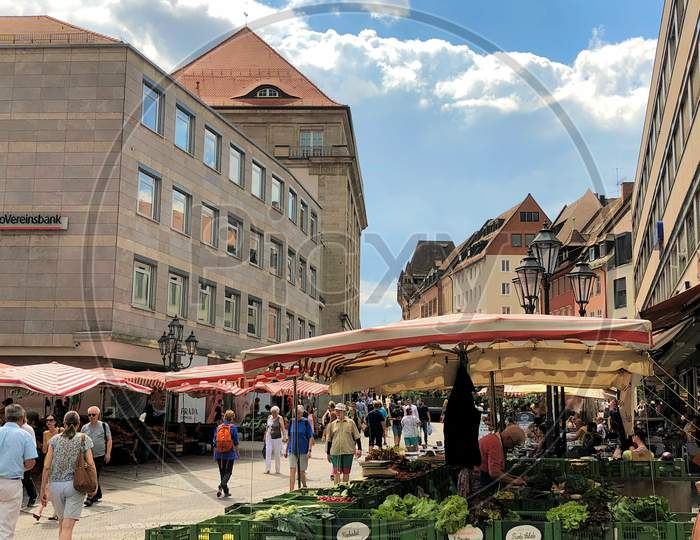 Discovering The City Of Nuremberg In Germany 27.7.2018