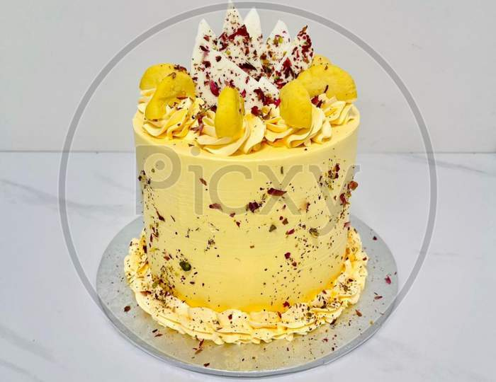 It is a cardamom flavored cake
