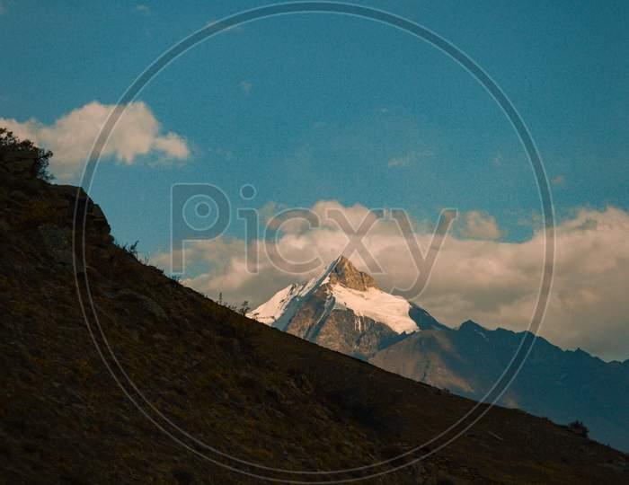 Ghepan Peak in Lahaul and Spiti, Himahal Pradesh