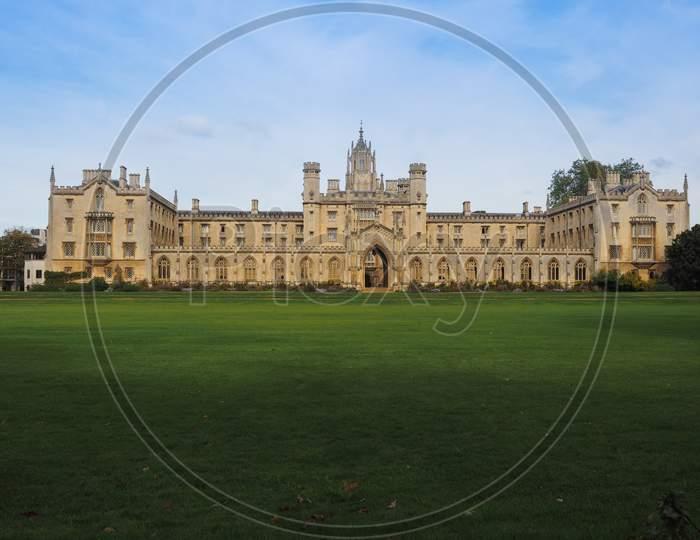St John'S College Third Court In Cambridge