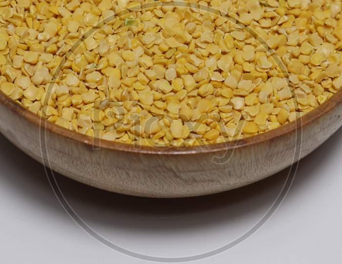Chickpea Gram Stock On Bowl For Sell