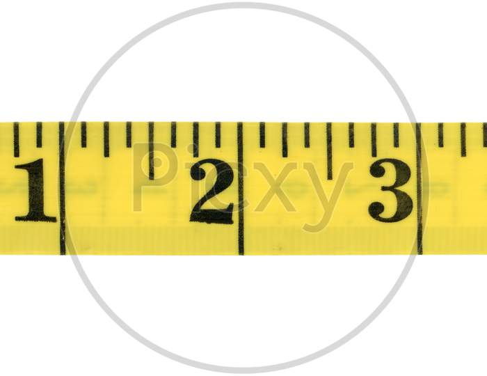 Tape Measure Ruler With Imperial Units