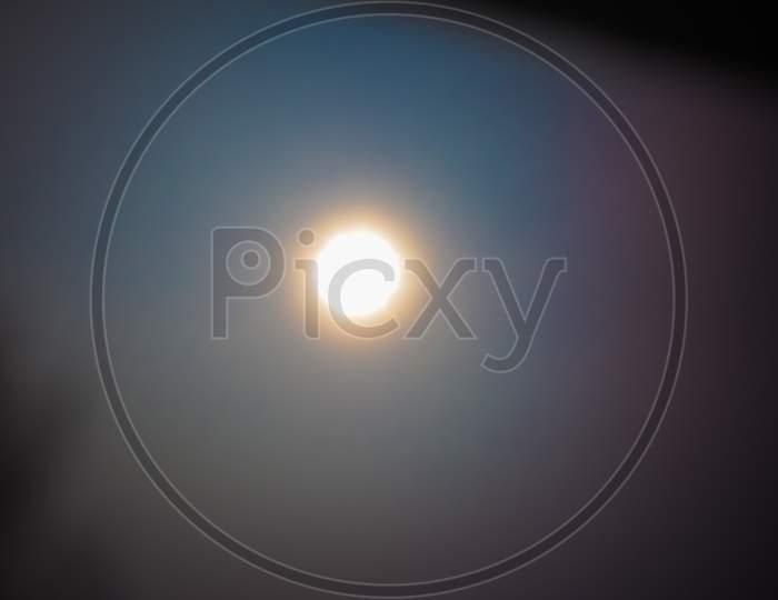The Sun Seen With Pinhole Camera