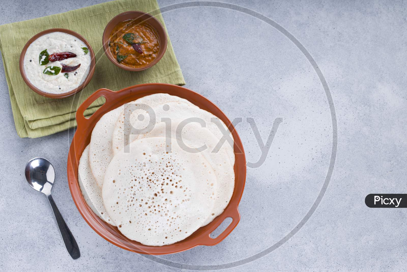 Thattu Dosa Or Kutty Dosa