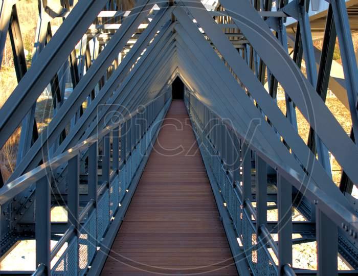 Terrific Bridge Construction In Tamins In Switzerland 20.2.2021