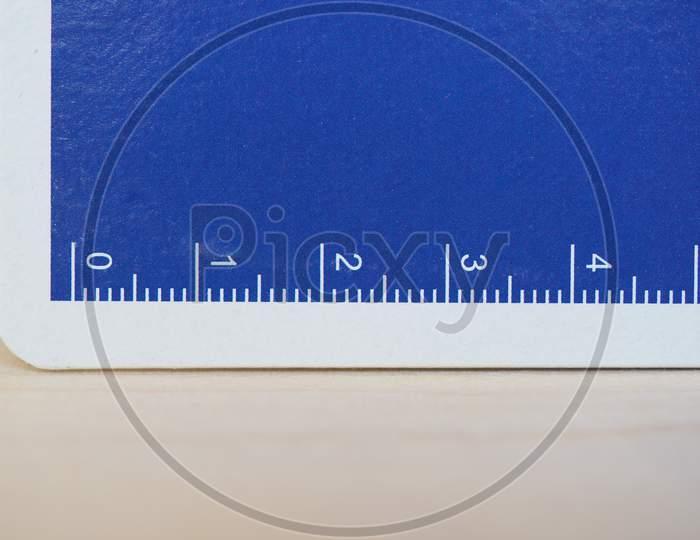 Paper Metric Ruler