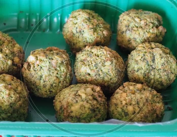 Falafel Traditional Middle Eastern Food