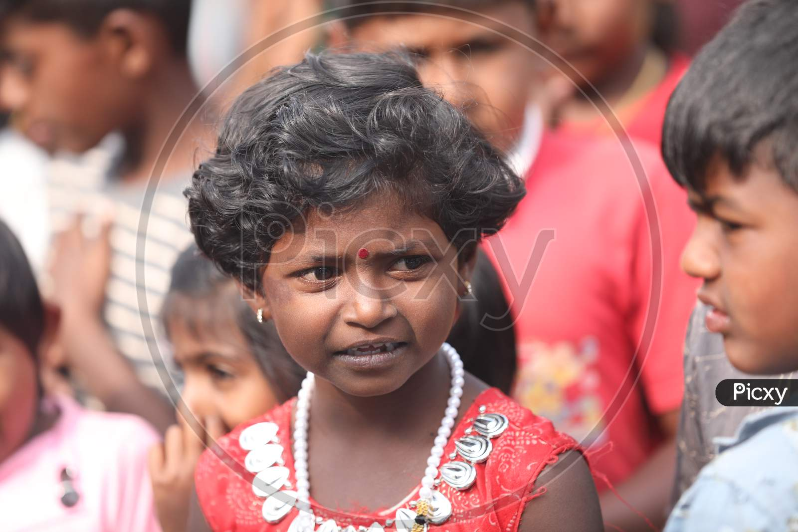 Indian Young Poor Girl Child