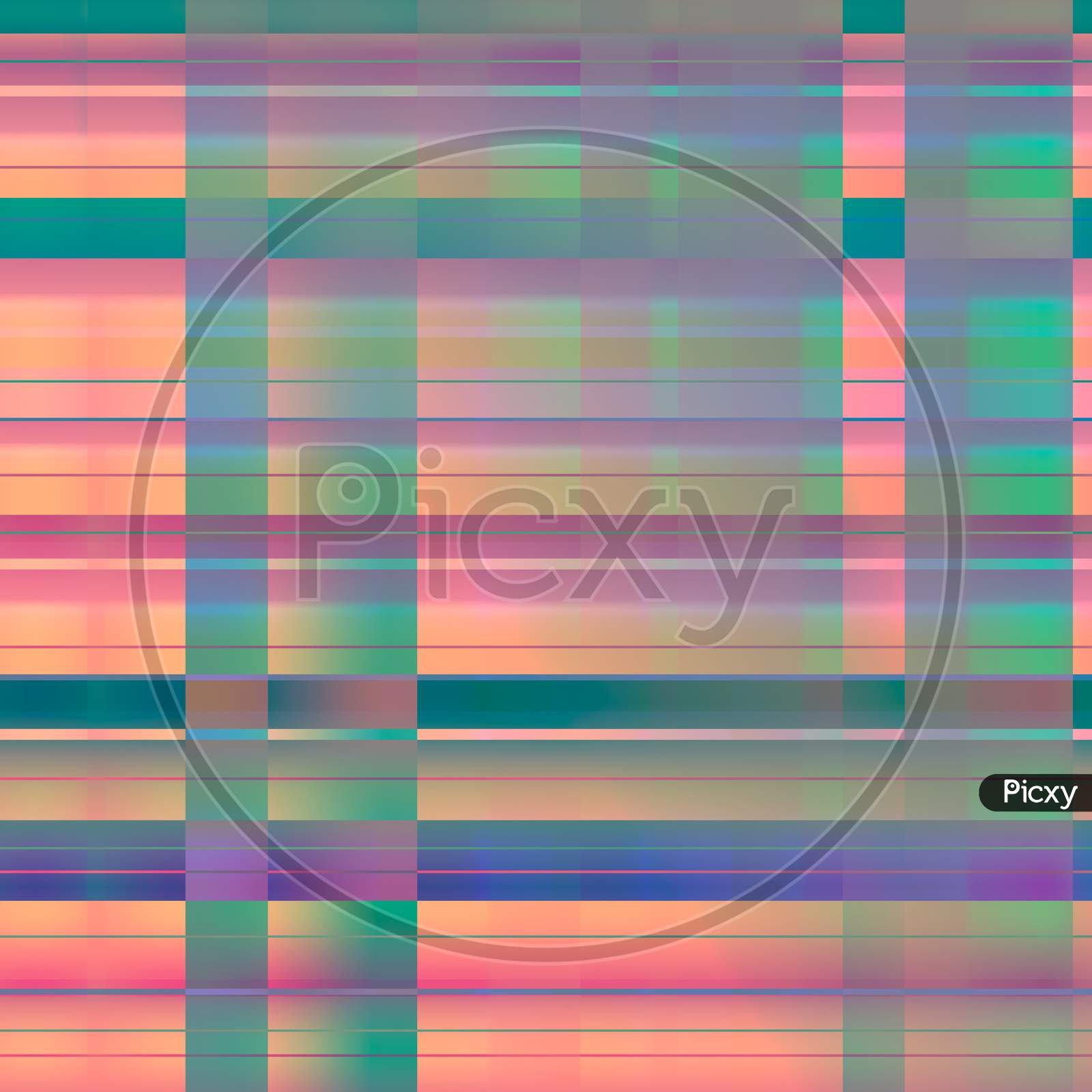 Colorful Abstract Lines Pattern. Resource For Designers.
