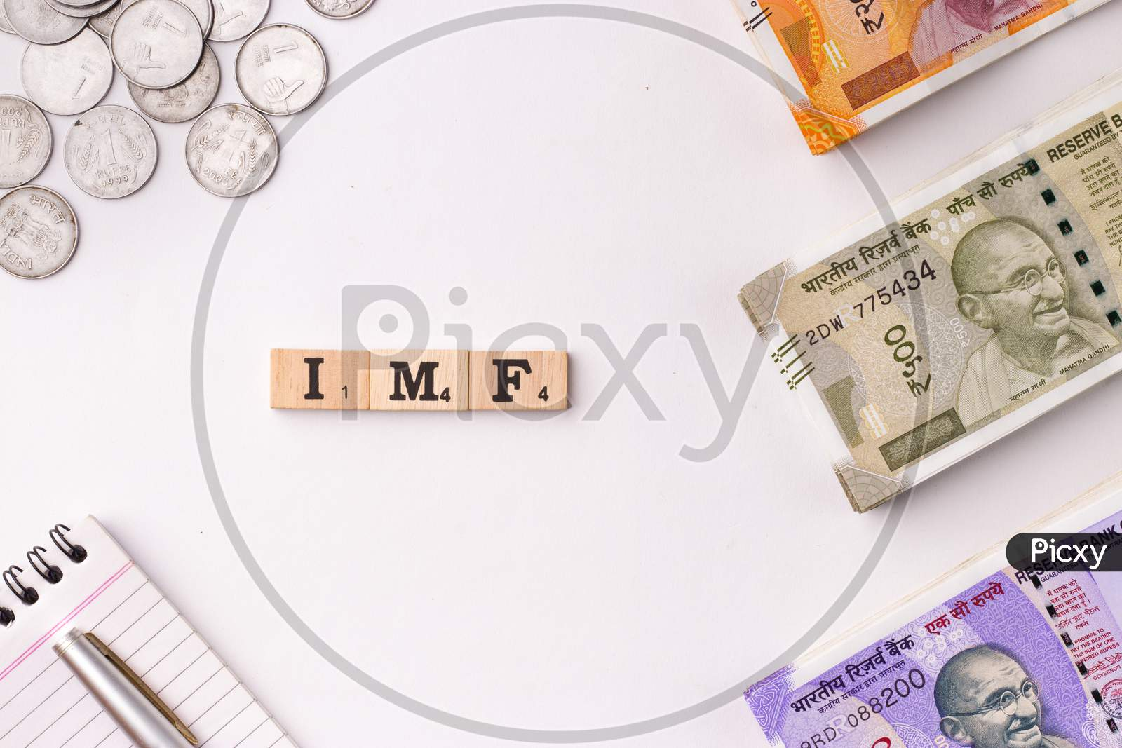Assam, india - March 30, 2021 : Word INCOME TAX written on wooden cubes stock image.