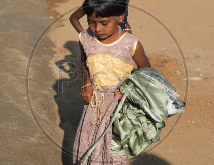 Indian Children watching