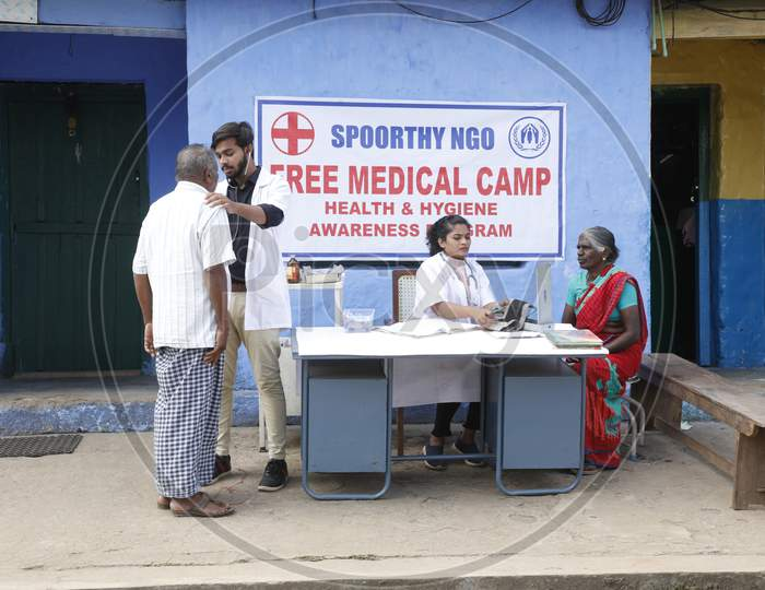 Free Medical Camp in Rural area