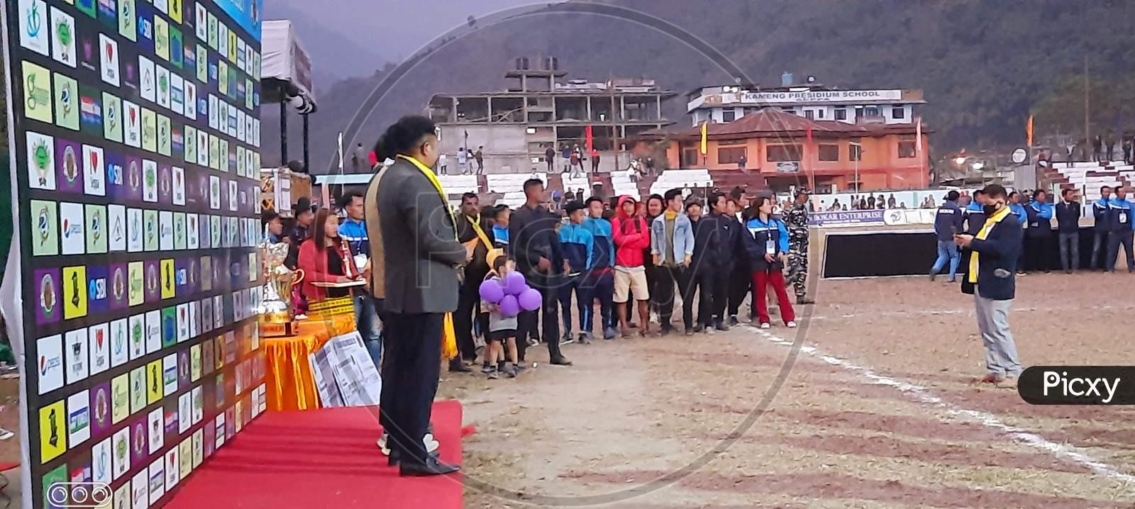 Prize Ceremony of 1st Ever East Kameng Football Premier League