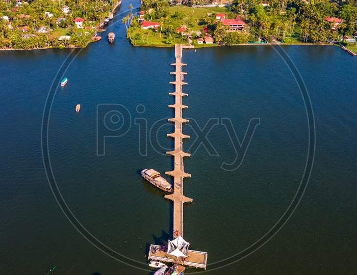 Kainakary Boat Terminal in Alleppey Backwaters