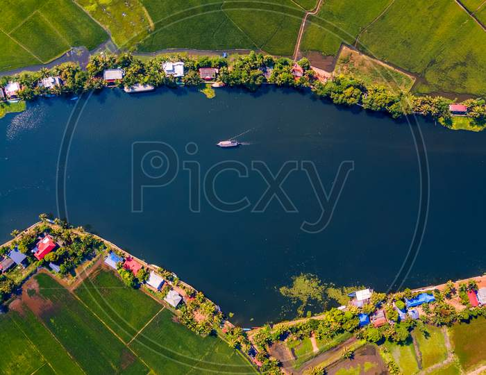 Drone Views of Alleppey Backwaters