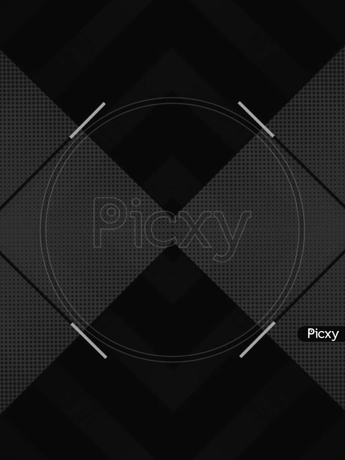 A creative 3d design abstract in black background